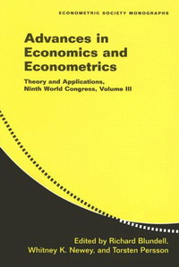 Advances in Economics and Econometrics: Theory and Applications, Ninth World Congress: Vol. 3 (Econometric Society Monographs): Theory and Applications, ... Congress: 3 (Econometric Society Monographs) алла родимкина россия экономика и общество тексты и упражнения russia economics and society texts and exercises