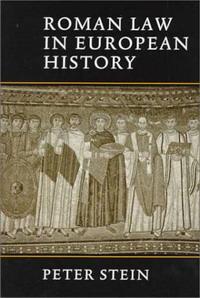 Roman Law in European History swedish studies in european law volume 1 2006