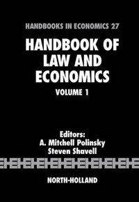 Handbook of Law and Economics: 1 (Handbook of Law and Economics) handbook of the exhibition of napier relics and of books instruments and devices for facilitating calculation