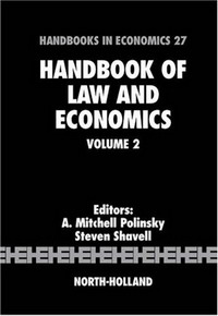 Handbook of Law and Economics: Volume 2 edited by ronald w jones peter b kenen handbook of international economics volume 2 international monetary economics and finance