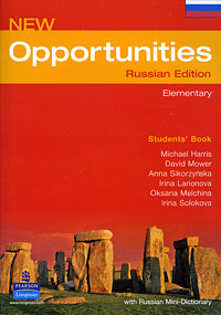 New Opportunities: Russian Edition: Elementary: Students' Book with Russian Mini-Dictionary