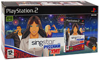 SingStar: Русский хит (PS2) (+ 2 микрофона), Sony Computer Entertainment (SCE)