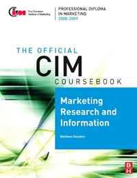 CIM Coursebook 08/09 Marketing Research and Information (Cim Coursebook) global elementary coursebook with eworkbook pack