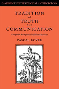 Tradition as Truth and Communication: A Cognitive Description of Traditional Discourse law as communication