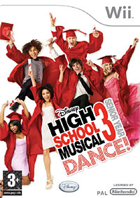 High School Musical 3: Senior Year Dance! (Wii) disney mix max high school musical movie