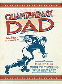 Quarterback Dad: A Play by Play Guide to Tackling Your New Baby unique new bronze dad pocket watch necklace the greatest dad fob father vintage quartz men watches luxury gift relogio de bolso