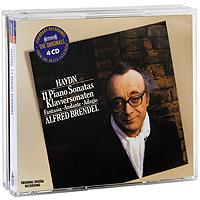 Альфред Брендель Alfred Brendel. Haydn. 11 Piano Sonatas (4 CD) piano sonatas cd