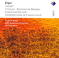 Andrew Davis. Elgar. Falstaff / Froissart / Romance For Bassoon, etc.