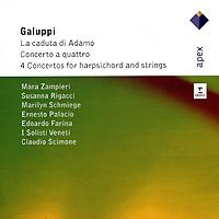 Claudio Scimone. Galuppi. La Caduta Di Adamo / Harpsichord Concertos (2 CD) claudio la viola 100