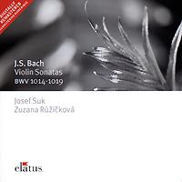 Josef Suk, Zuzana Ruzickova. Bach. Violin Sonatas BWV 1014-1019 (2 CD) bach bach violin concertos nos 1 2 180 gr