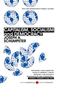 Capitalism, Socialism, and Democracy democracy in america nce