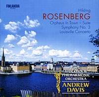 Andrew Davis. Rosenberg. Orpheus In Town / Symphony No. 3 / Louisville Concerto бинокль bushnell elite 8x42