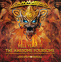 """Gamma Ray"" Gamma Ray. Hell Yeah!!! Live In Montreal (2 CD)"
