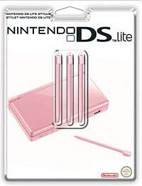 Стилус для Nintendo DS Lite (розовый) 3 шт.