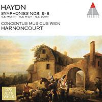 Николаус Арнонкур,Conсentus Musicus Wien Das Alte Werk. Haydn. Symphonies Nos. 6-8