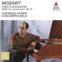 Concerto Koln,Андреас Стайер Das Alte Werk. Mozart. Piano Concertos Nos. 9 & 17 андреас стайер вольфганг моцарт andreas staier mozart piano sonatas 2 cd