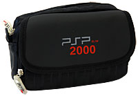 Многофункциональная cумка для приставки PSP/PSP 2000 и аксессуаров (черная) repair parts replacement analogue stick module for psp slim 2000 red
