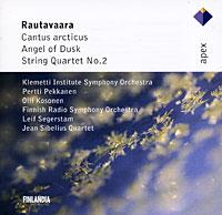 Einojuhani Rautavaara. Cantus Arcticus / Angel Of Dusk / String Quartet No. 2 dvorak quartet bartok milhaud – string quartet no 1 string quartet no 7 lp