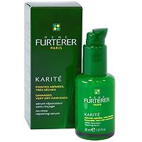Восстанавливающая сыворотка Rene Furterer для поврежденных и очень сухих кончиков волос, 30 мл3282779354707Несмываемый ежедневный уход для кончиков волос. Сыворотка с высокой концентрацией масла Карите, обладающего превосходными питательными свойствами, восстанавливает поврежденные кончики и предотвращает образование секущихся волос.Рекомендуется для ежедневного использования. Одну или две капли сыворотки нанести на кончики волос. Не смывать!Уважаемые клиенты!Обращаем ваше внимание на возможные изменения в дизайне упаковки. Качественные характеристики товара остаются неизменными. Поставка осуществляется в зависимости от наличия на складе.