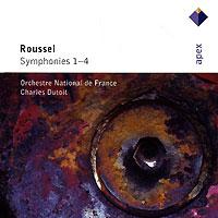 Шарль Дютуа,Orchestre National De France Charles Dutoit. Roussel. Symphonies 1-4 (2 CD) spectral classics pl151 bg 2 boxes