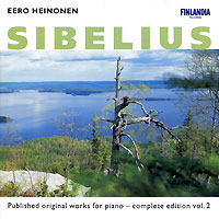 Иро Хейнонен Eero Heinonen. Sibelius. Vol. 2 eero lattu kaitstud eesti