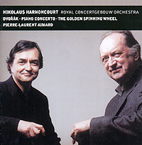Николаус Арнонкур,Пьер-Лорен Эймар,Royal Concertgebouw Orchestra Nikolaus Harnoncourt, Pierre-Laurent Aimard. Dvorak. Piano Concerto / The Golden Spinning Wheel николаус арнонкур nikolaus harnoncourt strauss ii waltzer polkas and marches