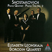Элизабет Леонская,Государственный квартет имени Бородина Elisabeth Leonskaja, Borodin Quartet. Shostakovich. Piano Quintet / Piano Trio No. 2 владимир ашкенази лиля зильберштайн олли мустонен линн харрелл beaux arts trio fitzwilliam string quartet shostakovich piano music chamber works 5 cd page 9