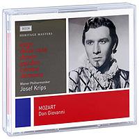 Чезаре Сиепи,Йозеф Крипс,Wiener Staatsopernchor,Wiener Philharmoniker Josef Krips. Mozart. Don Giovanni (3 CD) цены онлайн