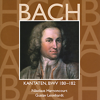 Gustav Leonhardt, Nicolaus Harnoncourt. Bach. Vol. 54: Kantaten, BWV 180-182