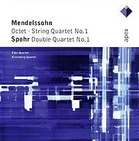 Mendelssohn. Octet / Spohr. Double Quartet No.1 люси шелтон mendelssohn string quartet lucy shelton mendelssohn string quartet harvard composers sacd