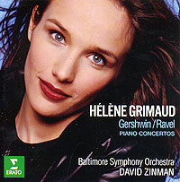 Helene Grimaud, David Zinman. Gershwin / Ravel. Piano Concertos