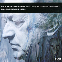 Николаус Арнонкур,Royal Concertgebouw Orchestra Nikolaus Harnoncourt. Dvorak. Symphonic Poems (2 CD)