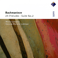 Мора Лимпэни Katia & Marielle Labeque, Moura Lympany. Rachmaninov. 24 Preludes / Suite No.2 (2 CD)