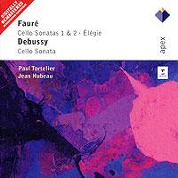 Пауль Тортелье,Жан Юбо Paul Tortelier, Jean Hubeau. Faure. Cello Sonatas 1 & 2, Elegie / Debussy. Cello Sonata spectral classics pl151 bg 2 boxes