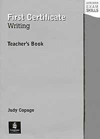 First Certificate Writing: Teacher's Book