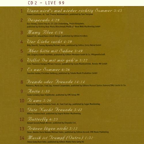 Dieter Thomas Kuhn& Band.  Leidenschaft, Lust Und Liebe (2 CD) WEA Records,Торговая Фирма