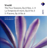 Мэрик Блэнкестайн,The Chamber Orchestra Of Europe Marieke Blankestijn. Vivaldi. The Four Seasons энтони ньюман чо лян лин harpsichord and portatif organ vivaldi the four seasons blu ray audio