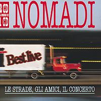 Nomadi. Le Strade, Gli Amici, Il Concerto (2 CD)