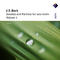 Lara Lev. Bach. Sonatas And Partitas For Solo Violin, Vol. 1
