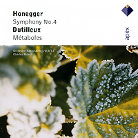 Charles Munch. Honegger. Symphony No.4 / Dutilleux. Metaboles