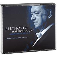 Николаус Арнонкур,Шарлотта Марджионо,Роберт Холл,The Chamber Orchestra Of Europe,Биржит Реммерт Nikolaus Harnoncourt. Beethoven. Symphonies Nos. 1-9 (5 CD)