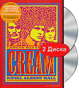 Cream: Royal Albert Hall. London May 2-3-5-6 2005 (2 DVD) cream royal albert hall london may 2 3 5 6 2005 2 dvd