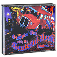 The Grateful Dead Grateful Dead. Steppin' Out With The Grateful Dead. England '72 (4 CD) the grateful dead grateful dead the best of the grateful dead 2 lp