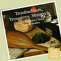 Томас Бинкли,Studio Der Fruhen Musik Thomas Binkley. Troubadours / Trouveres / Minstrels (2 CD) дутики der spur der spur de034awkyw71