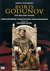 Boris Godunov is the quintessential Russian opera and brings to the stage one of the most curious episodes in the history of 16th-century Russia. After Mussorgsky's death in 1881, the work was revised by Rimsky-Korsakov whose version is sung in this performance.The great moments come across potently: the coronation scene with its splendid processions and cries of