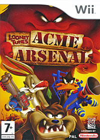 Zakazat.ru Looney Tunes ACME Arsenal (Wii)