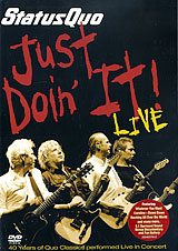 Status Quo: Just Doin' It! Live In Concert status quo just doin it live in concert