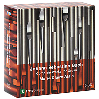 Мари-Клэр Элэйн,Адольф Буш,Sankt Nicolai Kirke Marie-Claire Alain. Bach. Complete Works For Organ (15 CD) jugend ohne gott