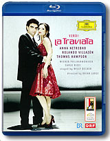 Verdi - La Traviata / Anna Netrebko, Rolando Villazon, Thomas Hampson (Blu-ray) the berlin concert domingo netrebko villazon blu ray