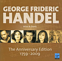 Фото - George Frideric Handel. Arias & Duets. The Anniversary Edition (2 CD) cd led zeppelin ii deluxe edition
